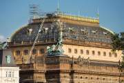 The National theatre - roof repairs
